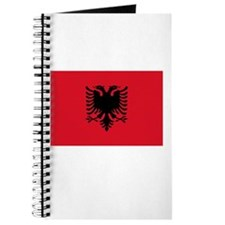 Albania Flag Picture Journal