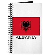 Albania Flag Stuff Journal