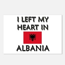 I Left My Heart In Albania Postcards (Package of 8