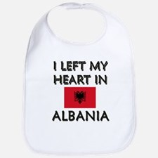 I Left My Heart In Albania Bib
