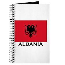 Albania Flag Gear Journal