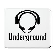 Underground Alien Head DJ Mousepad
