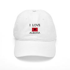 I Love Albania Baseball Baseball Cap