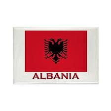 Albania Flag Merchandise Rectangle Magnet