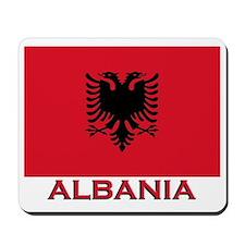 Albania Flag Merchandise Mousepad