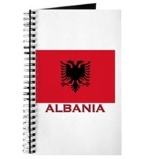 Albania Flag Merchandise Journal