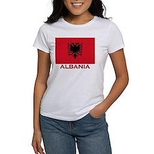 Albania Flag Merchandise Tee