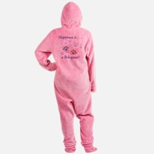 bolognesehappiness.png Footed Pajamas