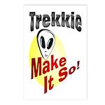 Trekkie Postcards (Package of 8)