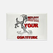 Goat Attitude Rectangle Magnet