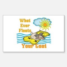Float Your Goat Decal