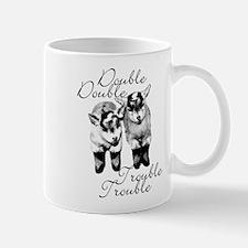 Baby Pygmy Goats Double Trouble Small Mugs