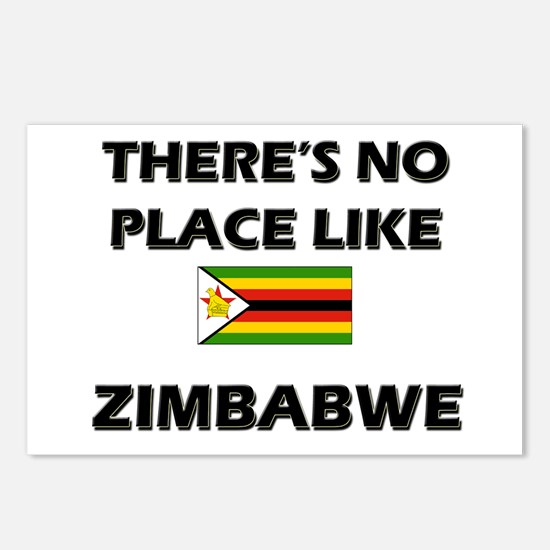 There Is No Place Like Zimbabwe Postcards (Package