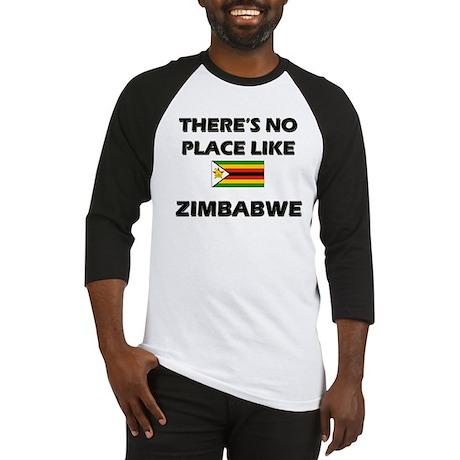 There Is No Place Like Zimbabwe Baseball Jersey