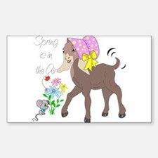 Baby Nubian Goat Decal