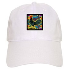 Andalusian Rooster Deco Baseball Cap