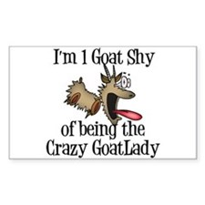 Crazy Goat Lady Decal