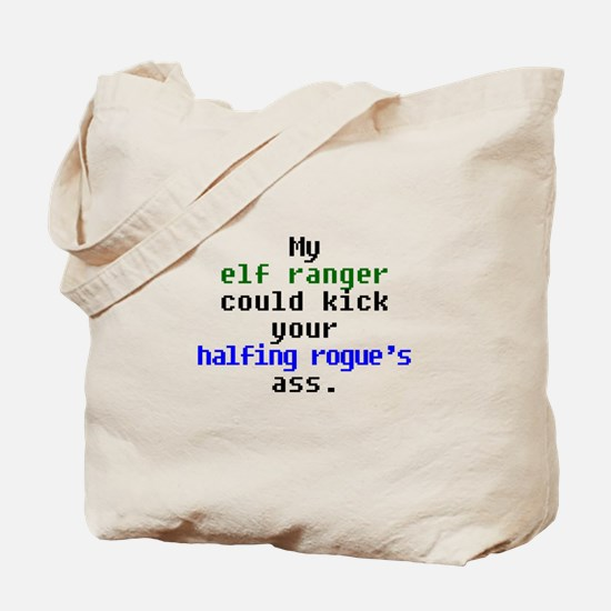 My Elf Ranger Tote Bag
