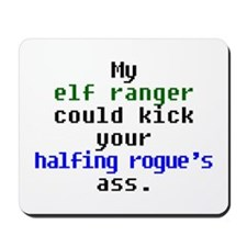 My Elf Ranger Mousepad