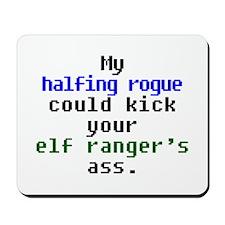 My Halfling Rogue Mousepad