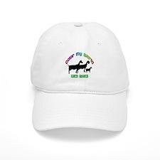 Color my World with Goats Baseball Baseball Cap