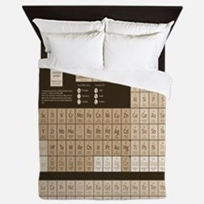 Periodic Table Of Elements Queen Duvet