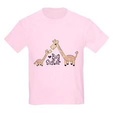 Big Sister Giraffe T-Shirt