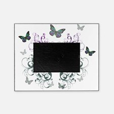 MultiColored Butterflies Picture Frame
