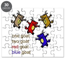 One Goat, Two Goat, Red Goat, Blue Goat Puzzle