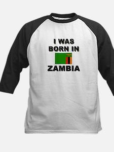 I Was Born In Zambia Tee