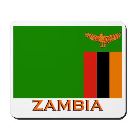 Zambia Flag Stuff Mousepad