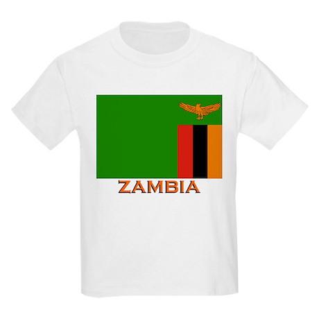 Zambia Flag Stuff Kids T-Shirt