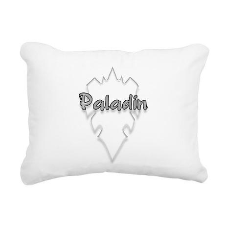 paladin logo Rectangular Canvas Pillow