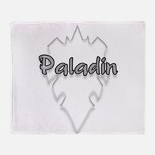 paladin logo Throw Blanket