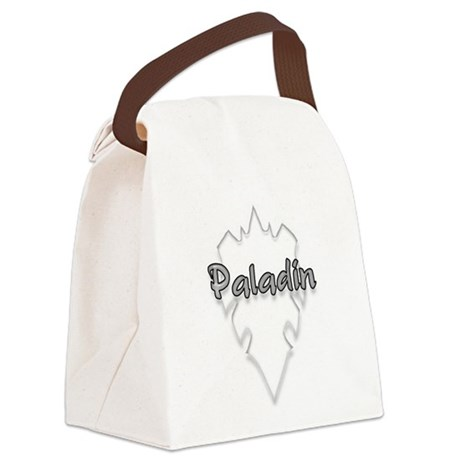 paladin logo Canvas Lunch Bag