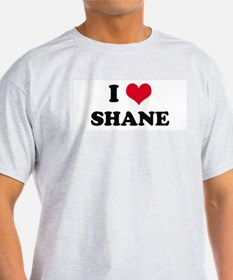 I HEART SHANE Ash Grey T-Shirt