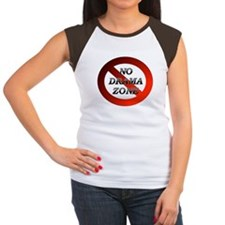 No Drama Zone Women's Cap Sleeve T-Shirt