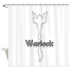 Warlock Logo Shower Curtain