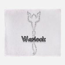 Warlock Logo Throw Blanket