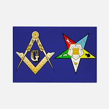 Masonic - Eastern Star Rectangle Magnet (10 pack)
