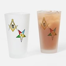 Masonic - Eastern Star Drinking Glass
