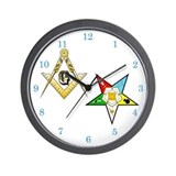 Masonic Wall Clocks