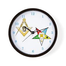 Masonic - Eastern Star Wall Clock