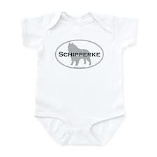 Schipperke Infant Creeper