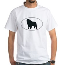 Schipperke Silhouette Shirt