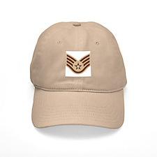 Staff Sergeant<BR> Khaki Baseball Cap