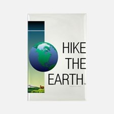 TOP Hike the Earth Rectangle Magnet