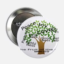 "Fruit of the Spirit 2.25"" Button"
