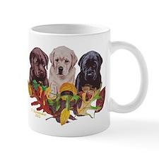 Autumn Colors Labrador Pups Mug