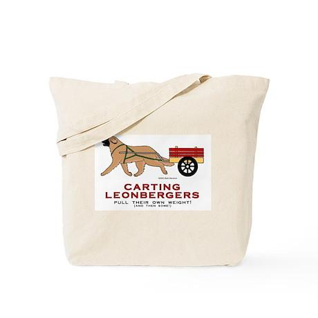 Carting Leo Tote Bag